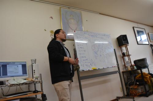 ユニセラ8期5回目授業風景